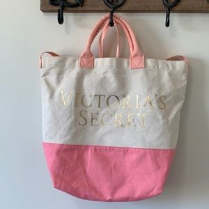 Victoria Secret canvas bag